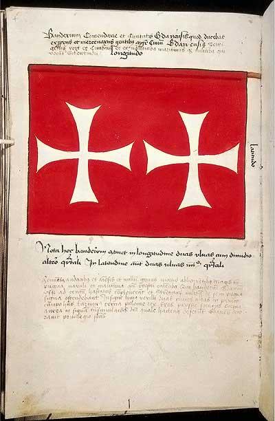 Рыцарские ордена. Прусские знамена 1410-1431: Знамя комтурства и города Данцига