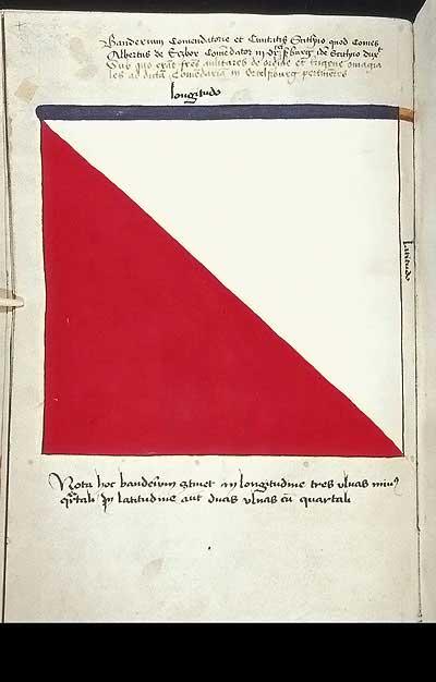 Рыцарские ордена. Прусские знамена 1410-1431: Знамя комтурства и города Ортельсбург