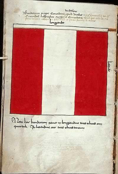 Рыцарские ордена. Прусские знамена 1410-1431: Знамя великого комтурства Штум