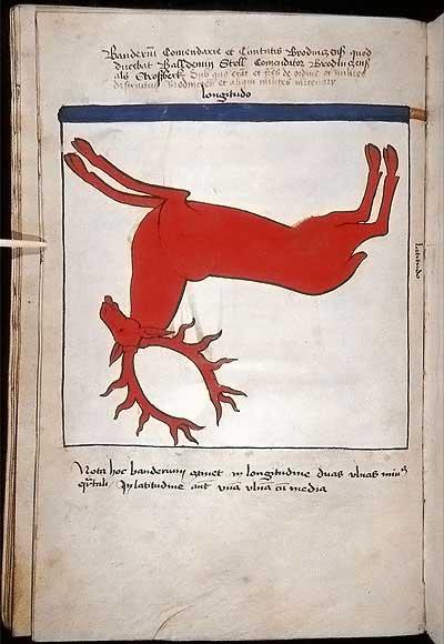 Рыцарские ордена. Прусские знамена 1410-1431: Знамя комтурства и града Страсбург