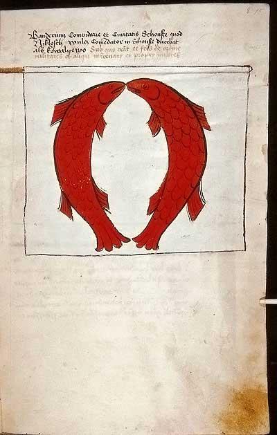 Рыцарские ордена. Прусские знамена 1410-1431: Знамя комтурства и града Шёнзее