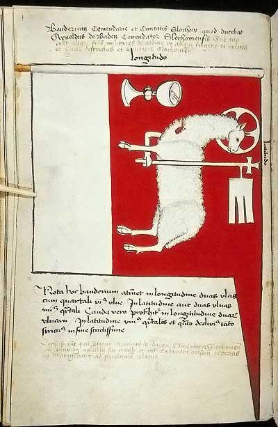 Рыцарские ордена. Прусские знамена 1410-1431: Знамя комтурства и града Шлохау
