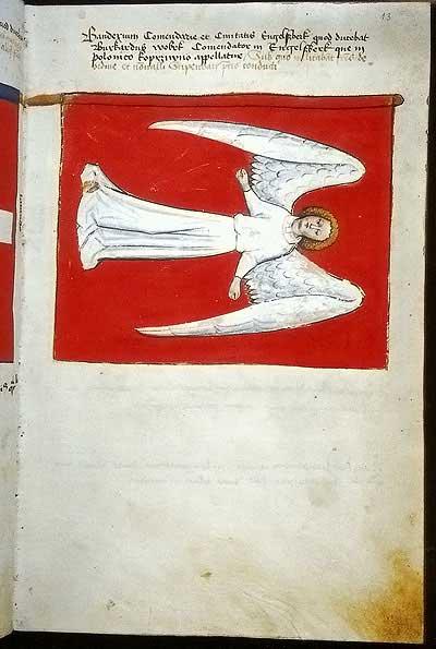 Рыцарские ордена. Прусские знамена 1410-1431: Знамя комтурства и града Энгельсбург