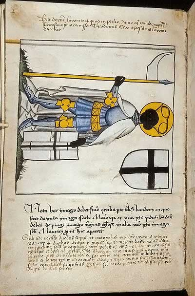 Рыцарские ордена. Прусские знамена 1410-1431: Знамя ливонцев