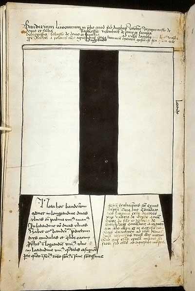 Рыцарские ордена. Прусские знамена 1410-1431: Знамя ливонцев 3