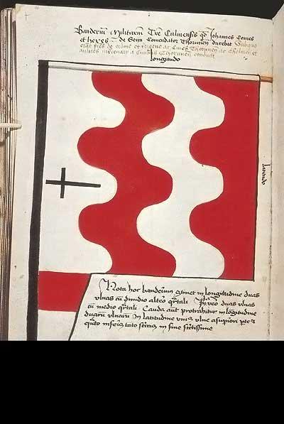Рыцарские ордена. Прусские знамена 1410-1431: Знамя рыцарей Кульмской земли