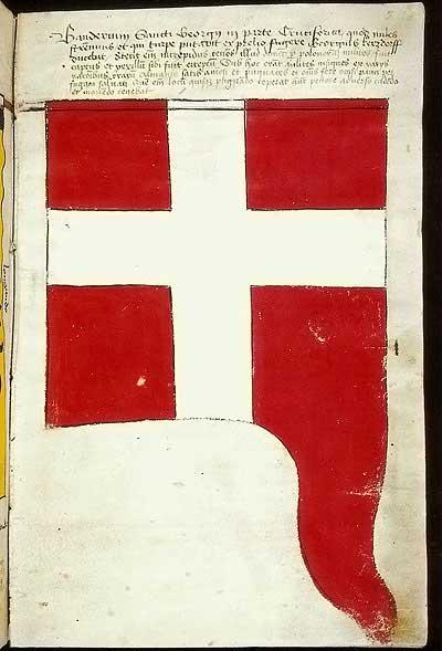 Рыцарские ордена. Прусские знамена 1410-1431: Знамя св. Георгия