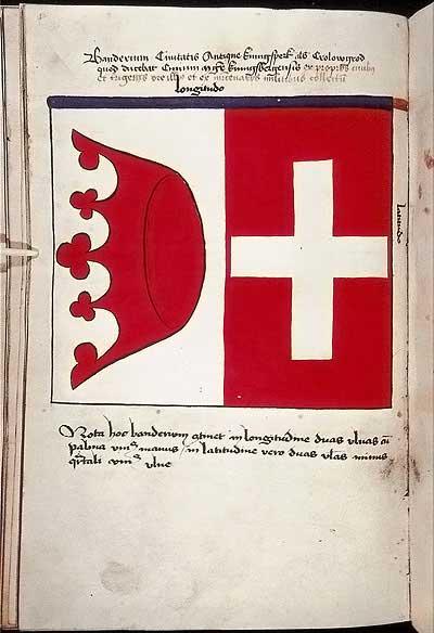 Рыцарские ордена. Прусские знамена 1410-1431: Знамя старого города Кенигсберга