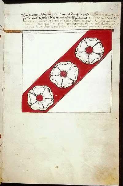 Рыцарские ордена. Прусские знамена 1410-1431: Знамя фогтства и града Роггенхаузен
