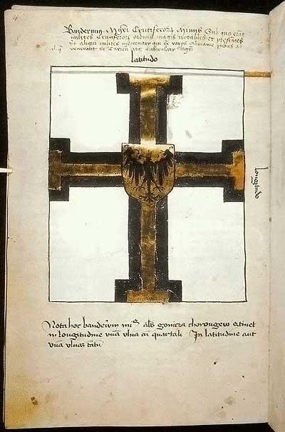 Рыцарские ордена. Прусские знамена 1410-1431: Малое знамя Великого магистра