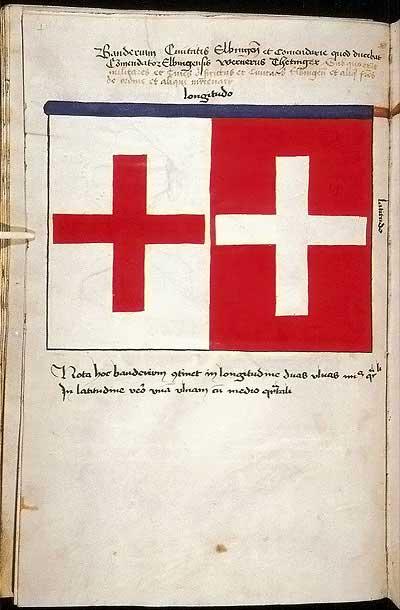 Рыцарские ордена. Прусские знамена 1410-1431: Знамя города Бранденбурга