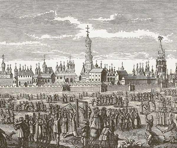 Наказания в Московии. Из издания Адама Олеария [17.33]