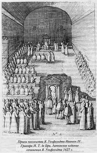 Якоб Ульфельд, 1578. Приём посольства Я.Ульфельда Иваном IV