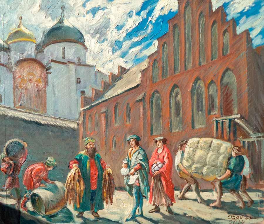 Ганзейцы в Великом Новгороде