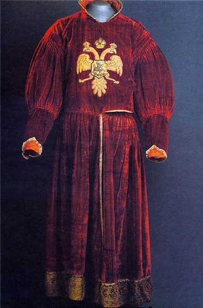 Кафтан сокольничего (ездовой). Древнерусская жизнь в картинках на www.booksite.ru