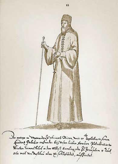 Альбом Мейерберга, Патриарх Никон в обыденной одежде