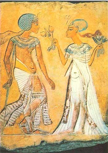 М.Н. Мерцалова. Одежда фараона