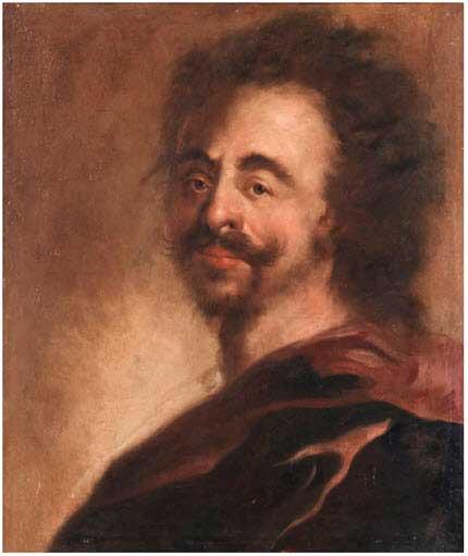 Антоний Шуньянс. Портрет Петра I, около 1698 г.