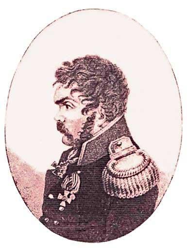 Д.В. Давыдов. Портрет. Из собрания Е. Понасенкова