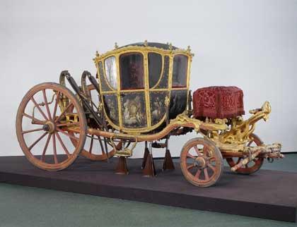 Карета. Франция, до 1761. Государственный Эрмитаж; http://www.hermitagemuseum.org