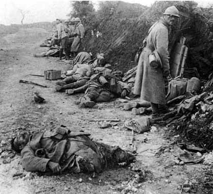 Первая мировая война, лики смерти 1