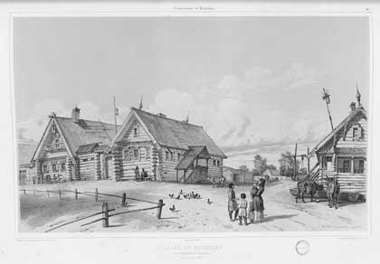 Альбом гравюр (заказ и финансирование – А.Н. Демидов). Кострома. Окрестности, 1839