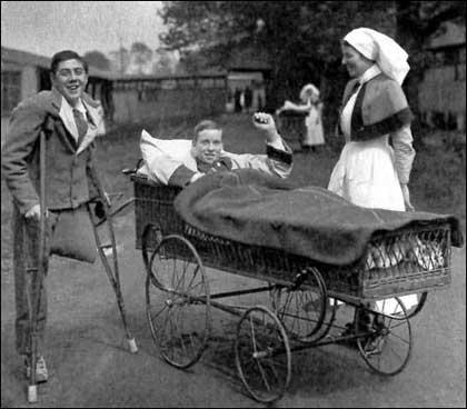 Первая мировая война, увечья 1