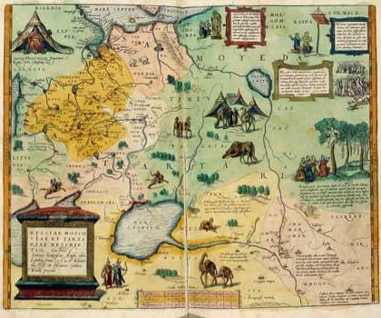 Карта Энтони Дженкинсона, 1562
