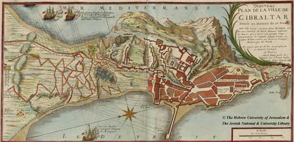 Гибралтар, 1727