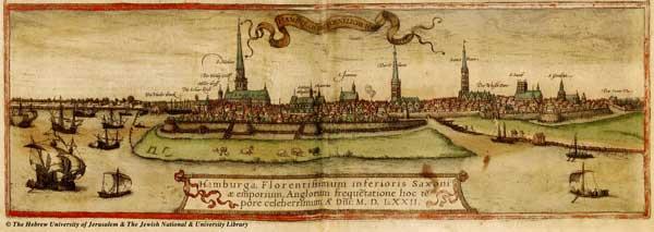 Гамбург, 1572