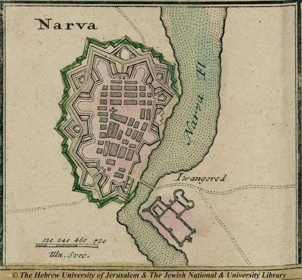 Нарва, 1750