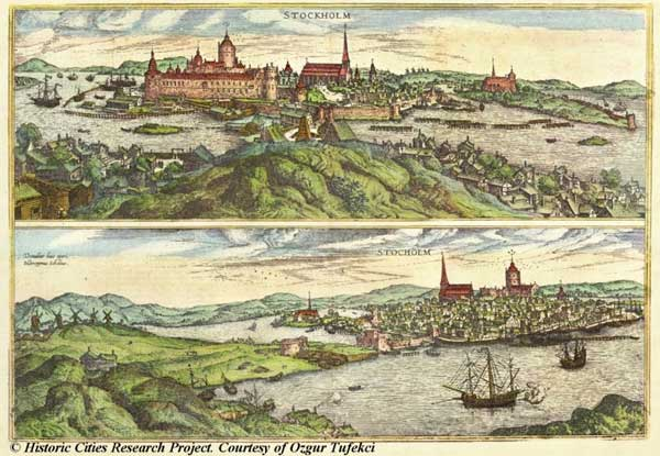 Стокгольм, 1588
