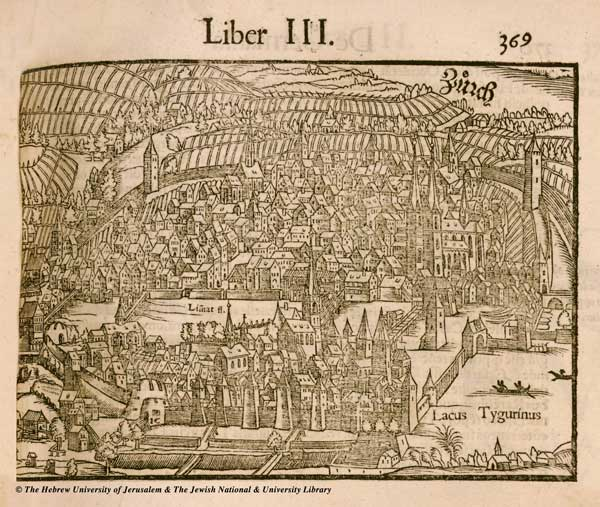 Цюрих, 1550